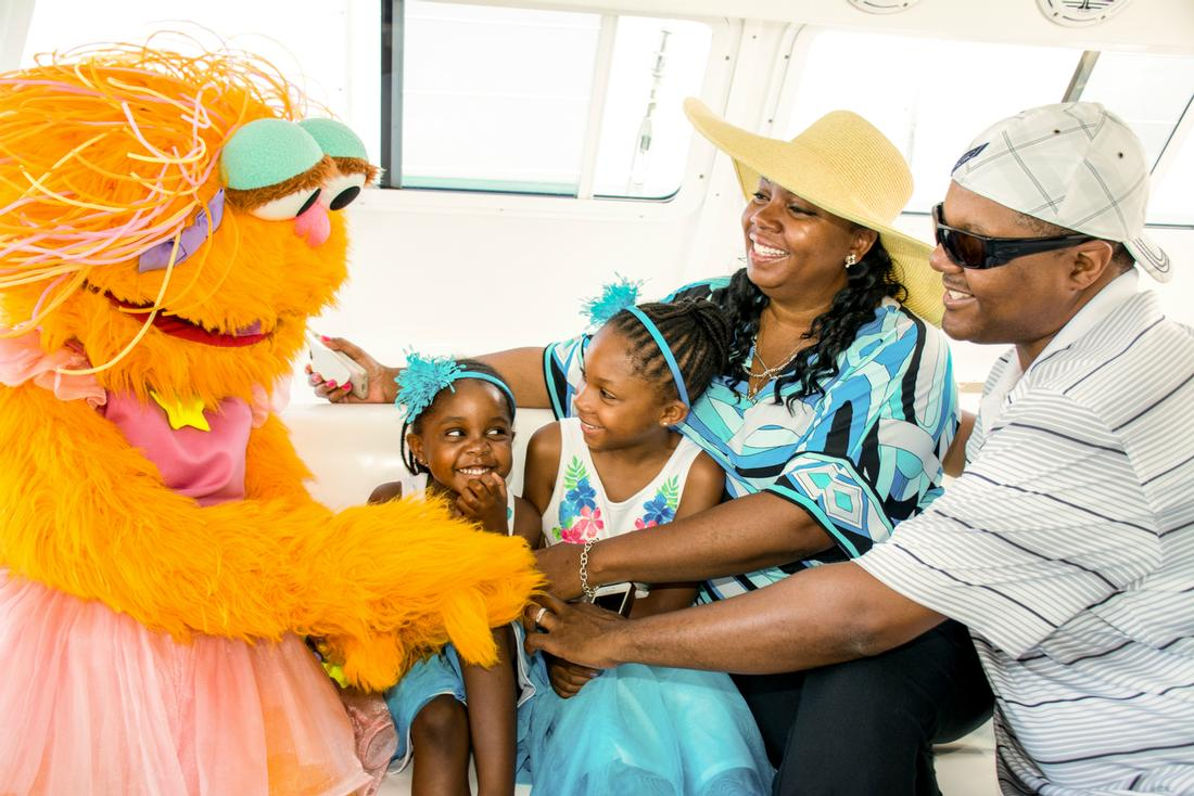turks and caicos sesame street