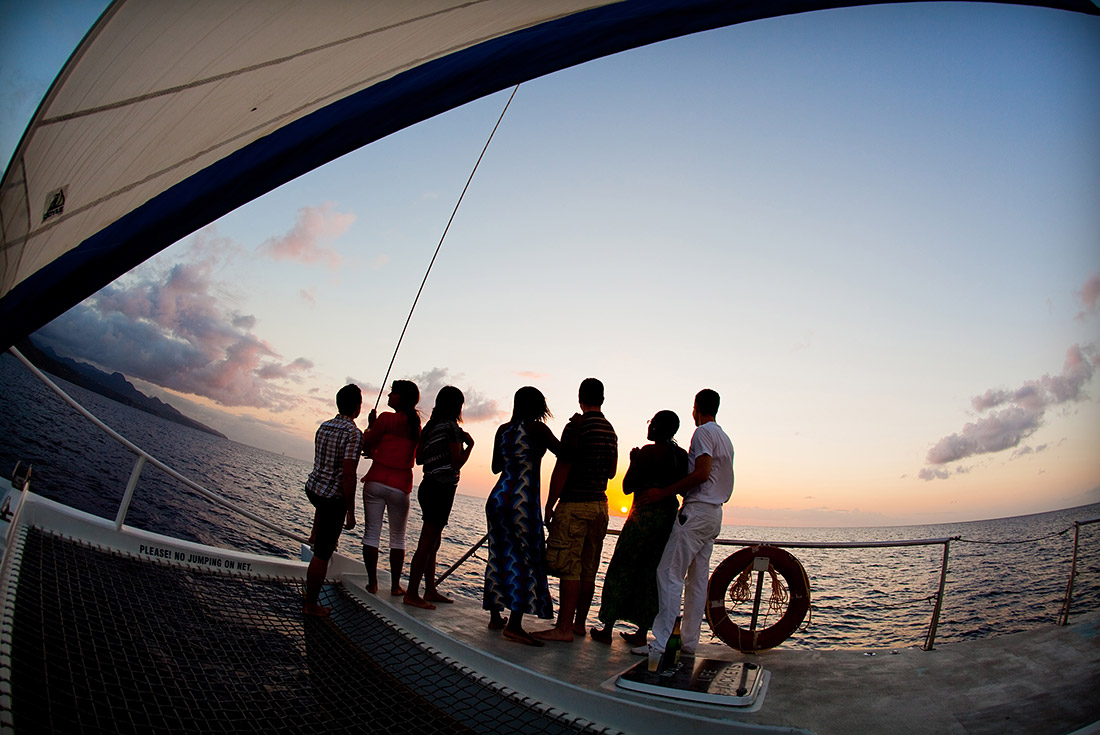 st. lucia sunset cruise