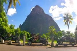 St. Lucia Buggy Tour
