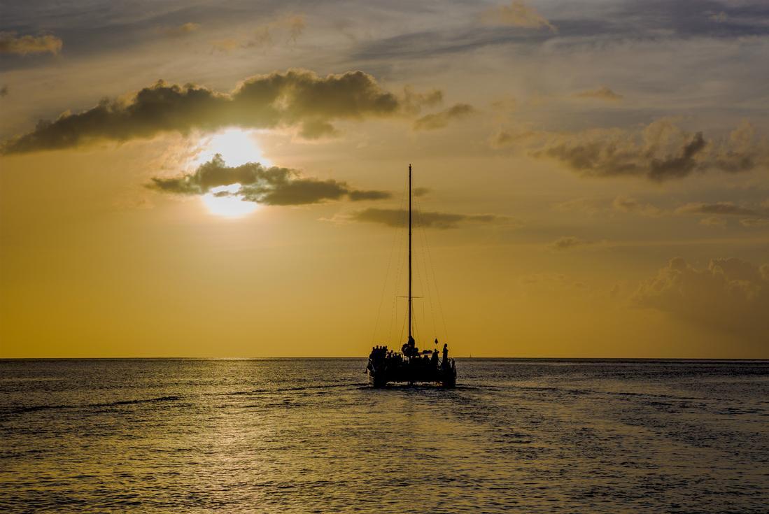 sunset cruise st. lucia