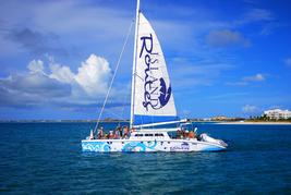 turks and caicos catamaran