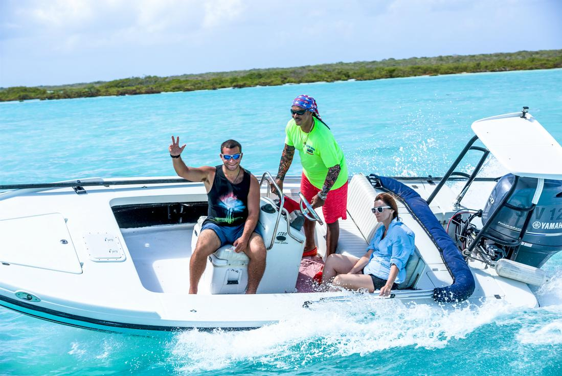 Caribbean island adventure sightseeing tours in turks for Turks and caicos fishing