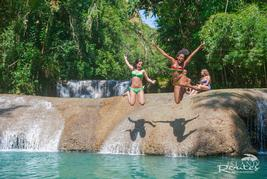 Ys Falls in jamaica