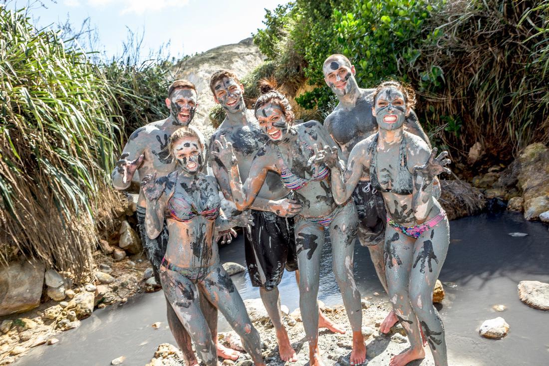 sulphur springs St. Lucia