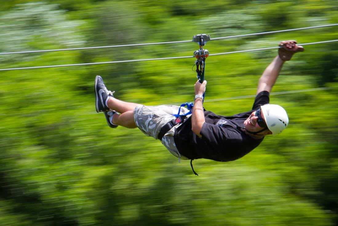 ziplining in punta cana