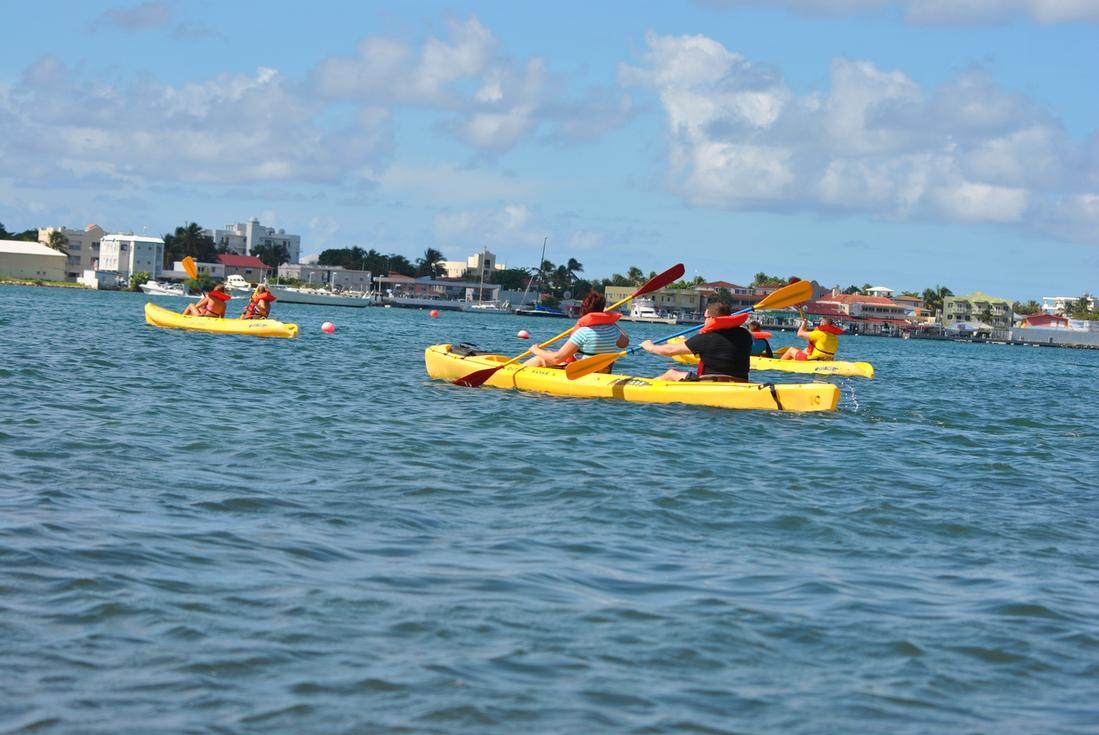 st. maarten kayaking