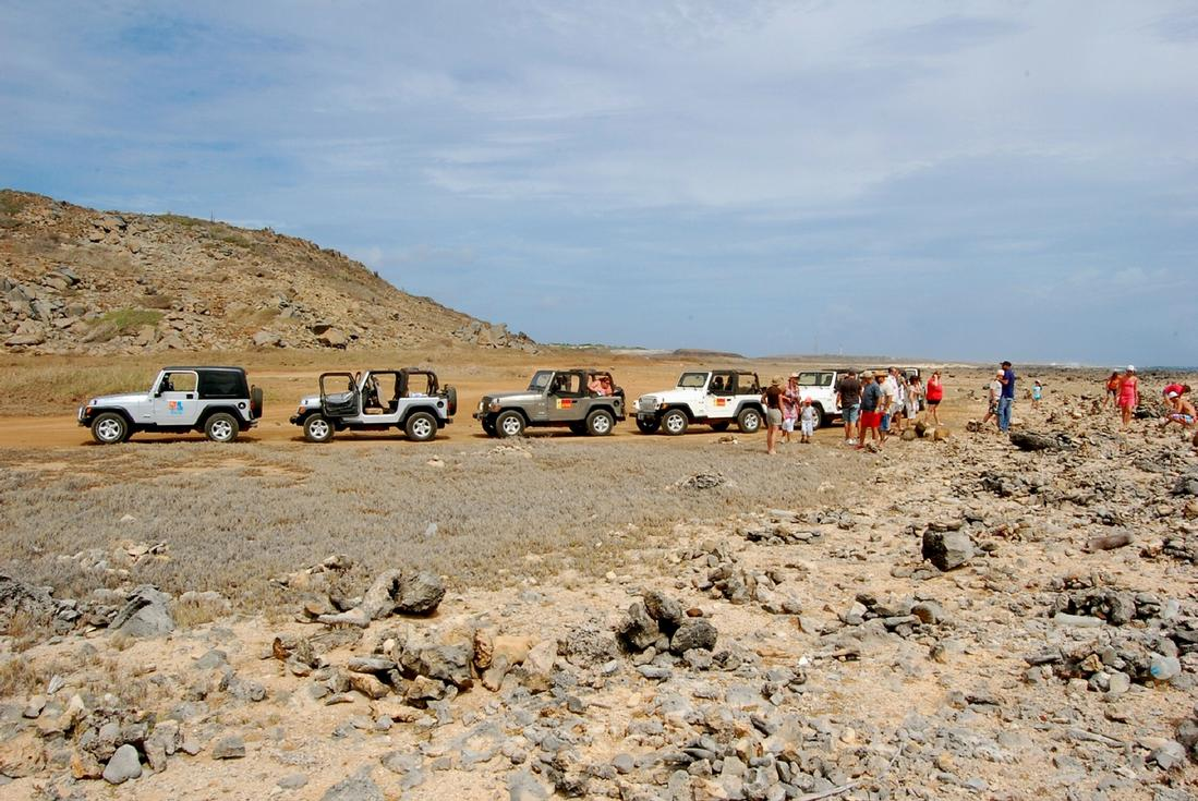 jeep safari in aruba