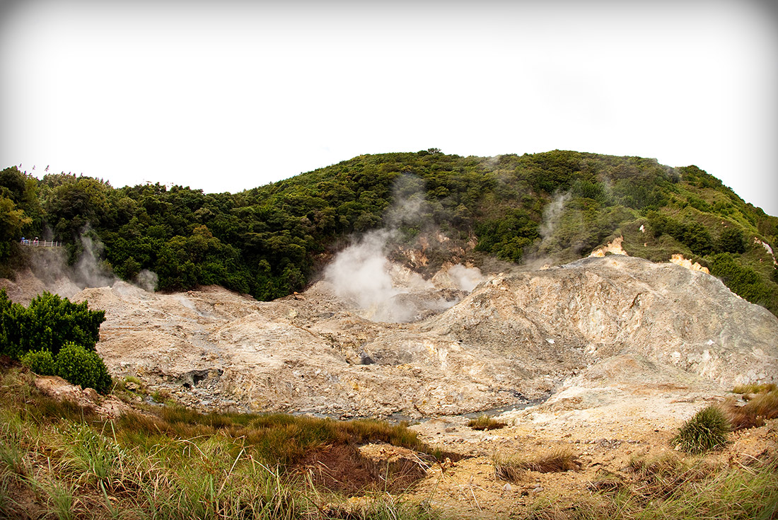St. Lucia volcano tour
