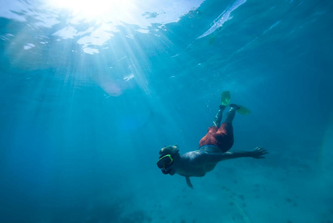 snorkeling in antigua