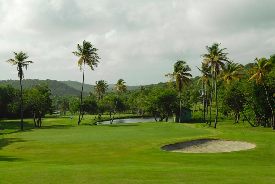 golf in st lucia 18 holes of caribbean golf. Black Bedroom Furniture Sets. Home Design Ideas