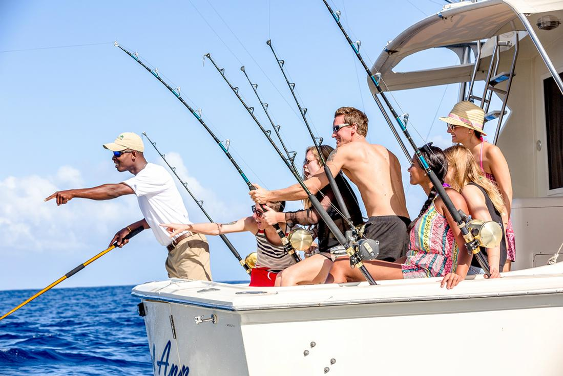 Deep sea fishing in negril island routes for Deep sea fishing jamaica