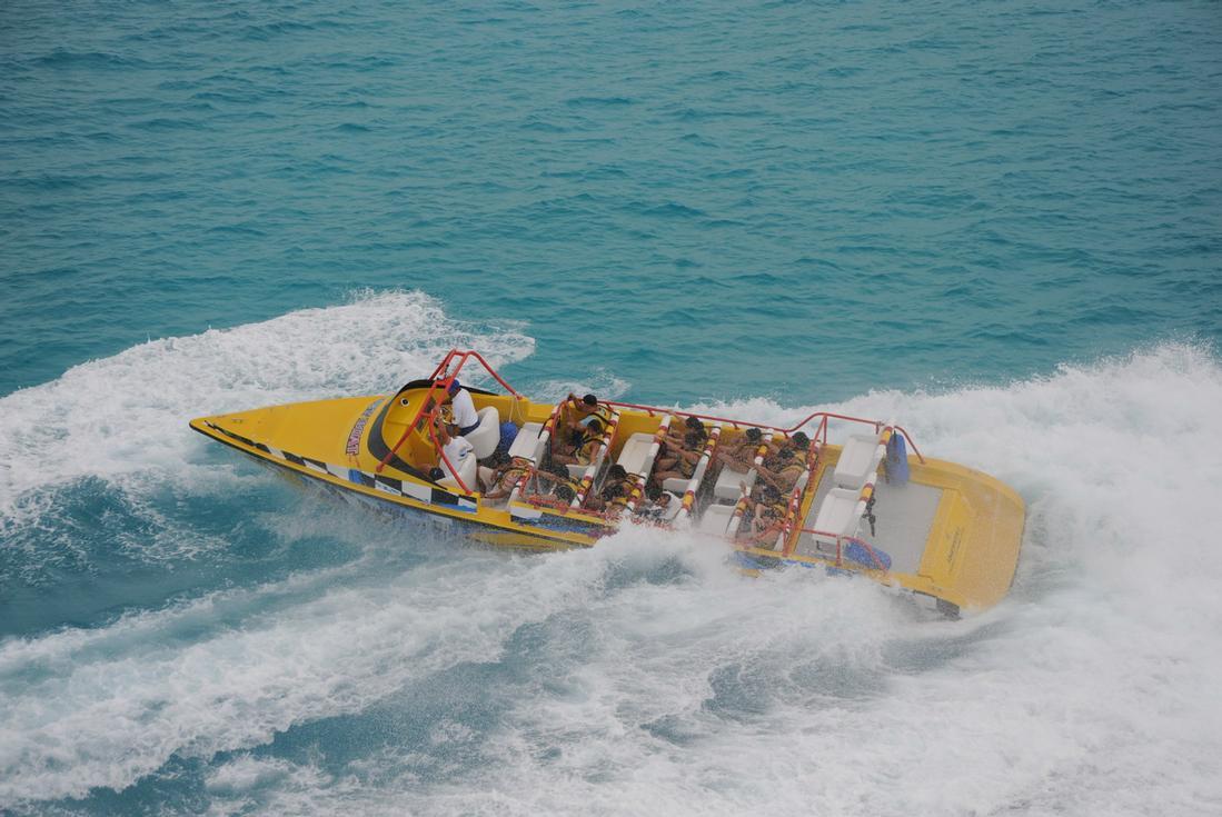 Cancun Speedboat Tour