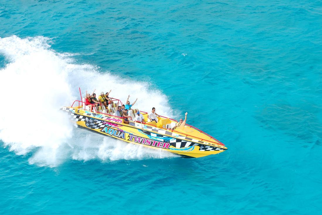 Cancun Speedboat