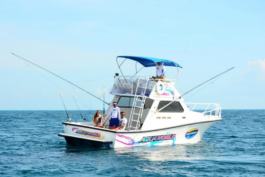 Cancun deep sea fishing island routes for Fishing in cancun
