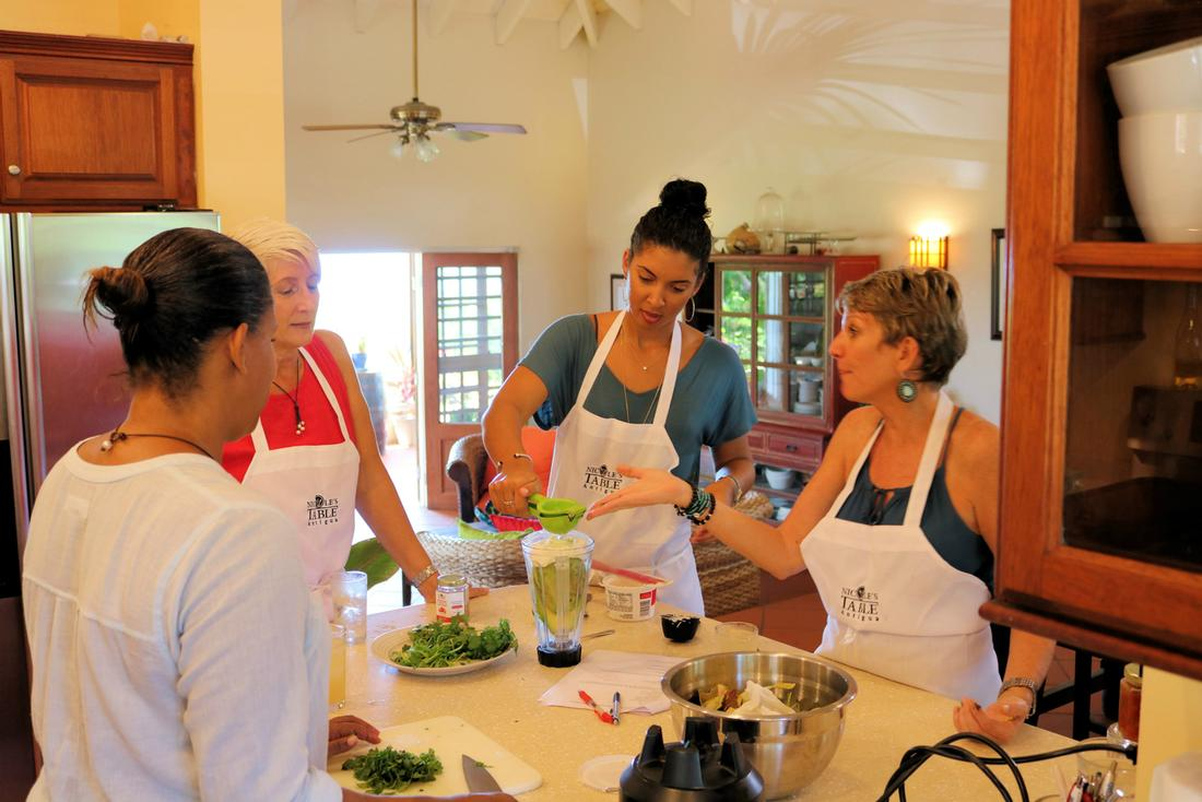 Nicole's Table Caribbean Cooking Classes Tour