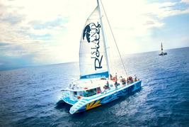 catamaran tour in jamaica