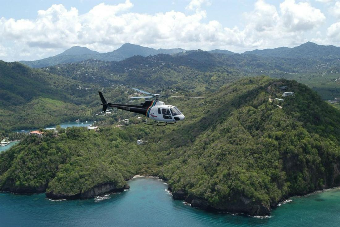 St.Lucia Helicopter Shuttle