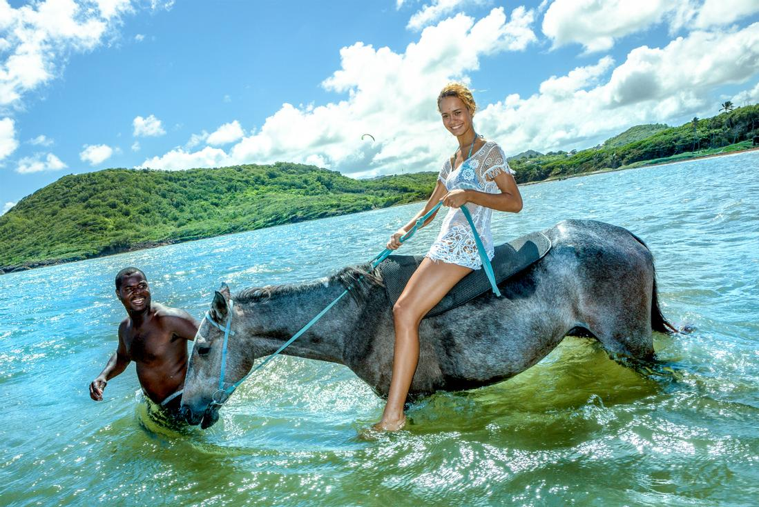 St Lucia Horseback Riding Island Routes