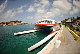 ferry to st. barts