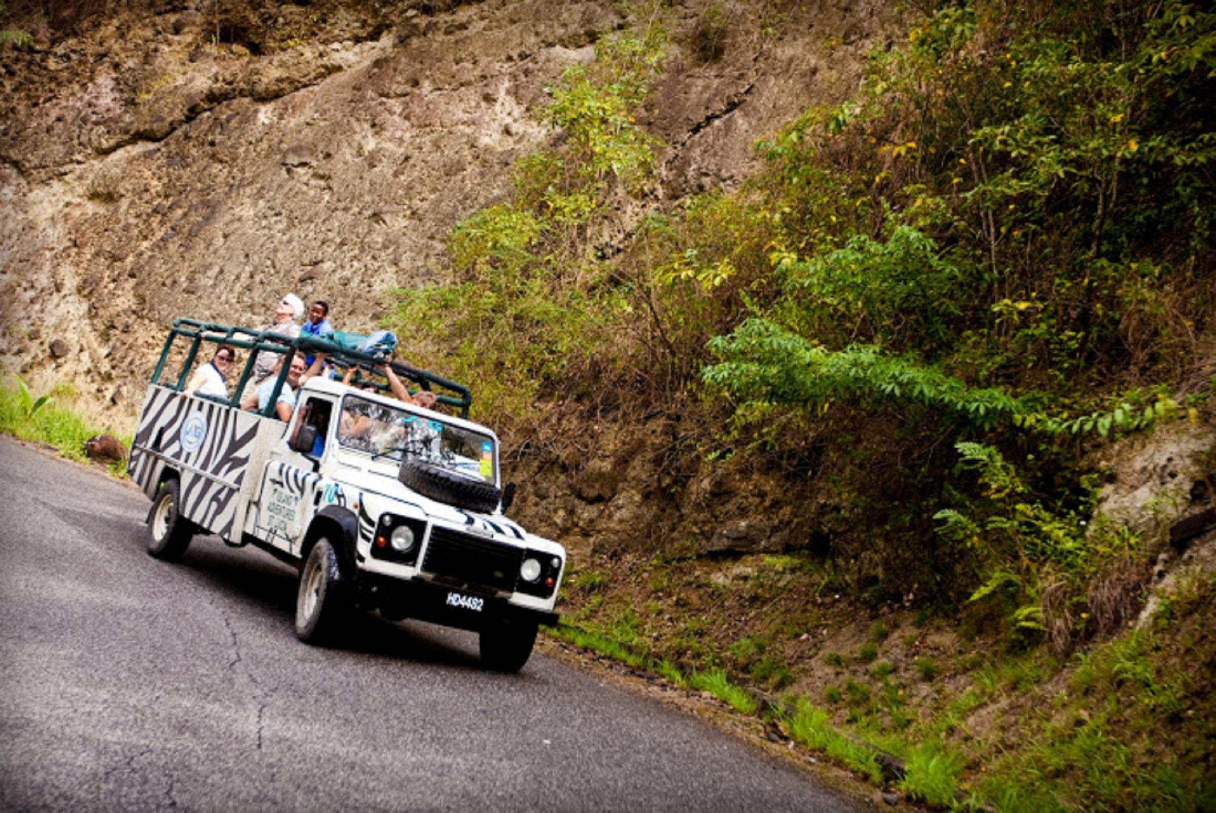 caribbean island adventure & sightseeing tours in st. lucia - island