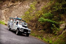 jeep tour in st. lucia