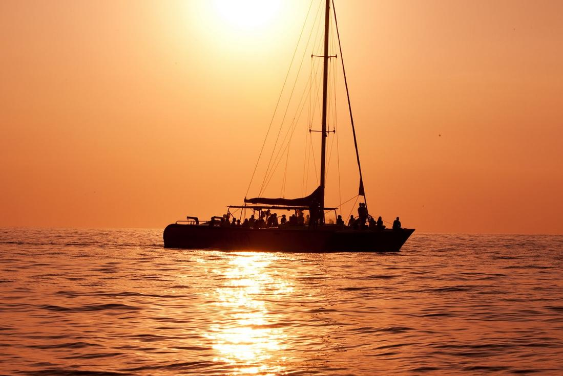 Sunset cruise in Grenada