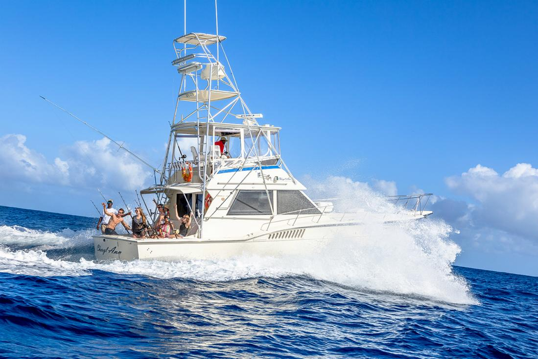 Deep sea fishing in negril island routes for Deep sea fishing st augustine
