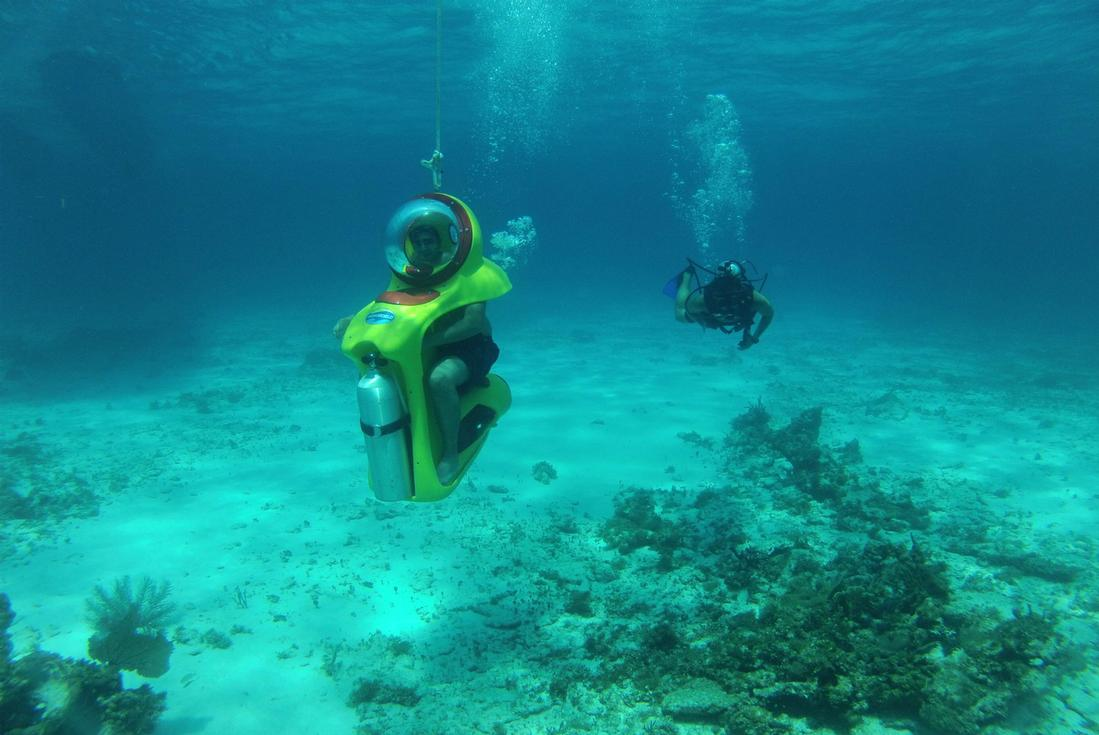 Cancun Underwater Scooter