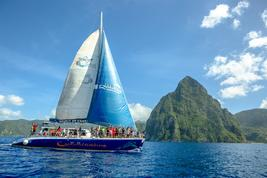 St.Lucia Catamaran Tour