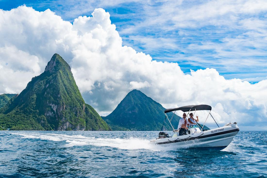 Explore The Beauty Of Caribbean: Soufriere Captain For A Day