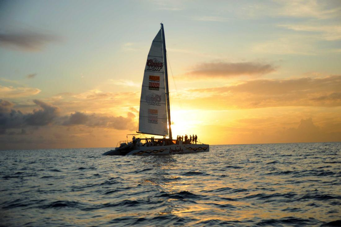 St. Maarten Sunset Catamaran Cruise