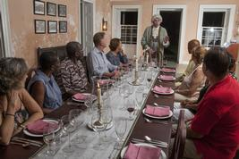 Barbados Historical Dinner with George