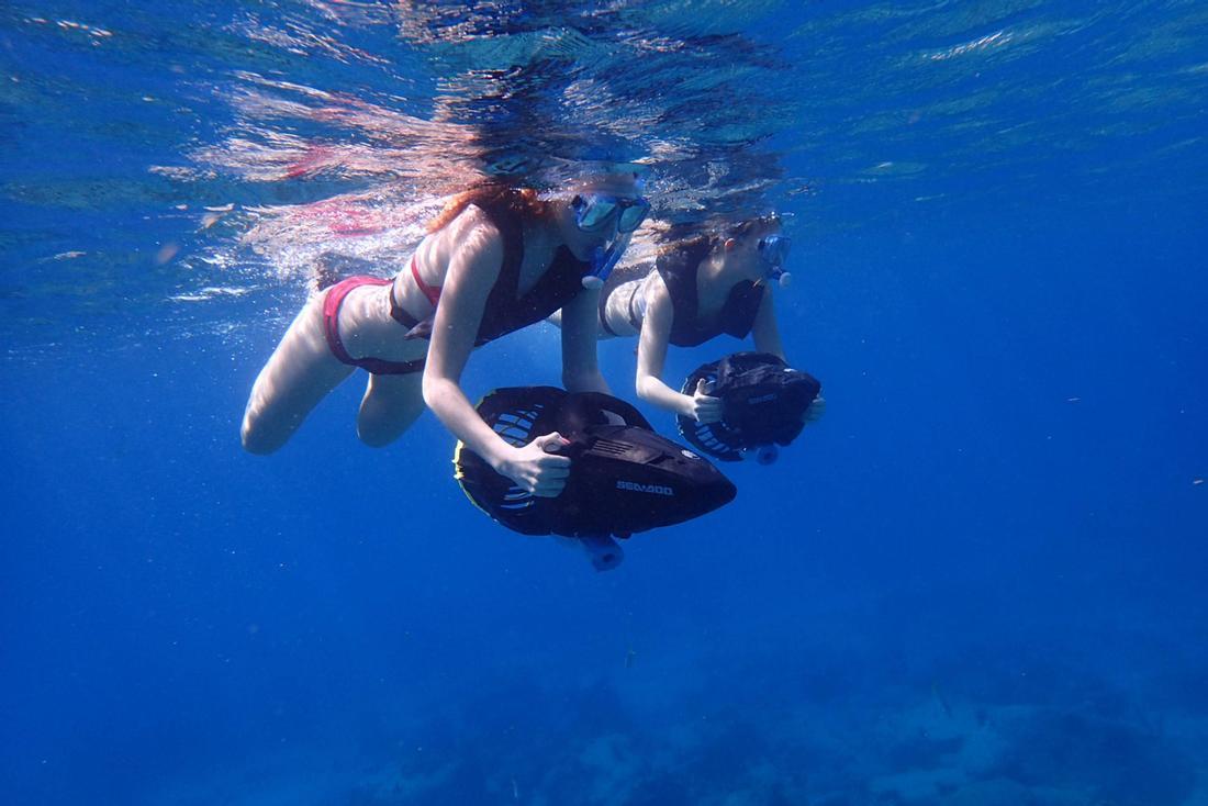Antigua Sea Doo Snorkeling Adventure - Island Routes