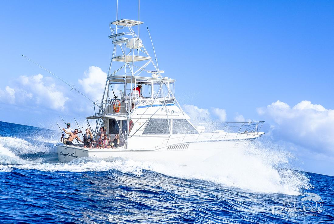 Deep Sea Fishing Antigua - Island Routes